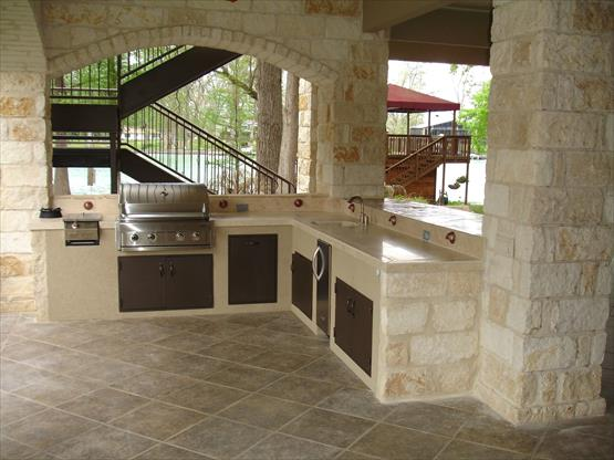 Premium outdoor kitchen & fireplace company for sale in LV